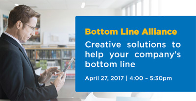 April 27th : Cory Grant speaking at Bottom Line Alliance